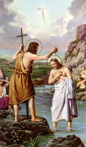 Suy niệm Lễ Chúa Giêsu chịu phép rửa - Năm A